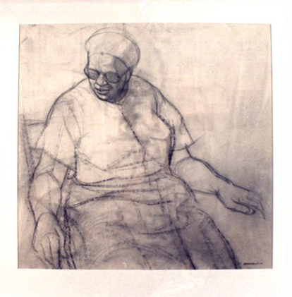 Study for Woman at Rest II